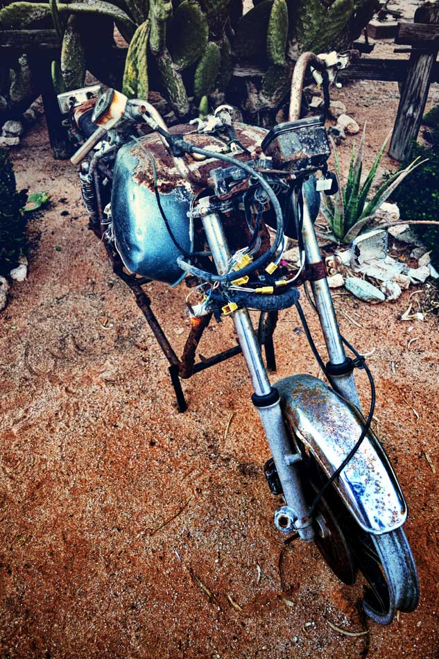 Solitaire - old bike