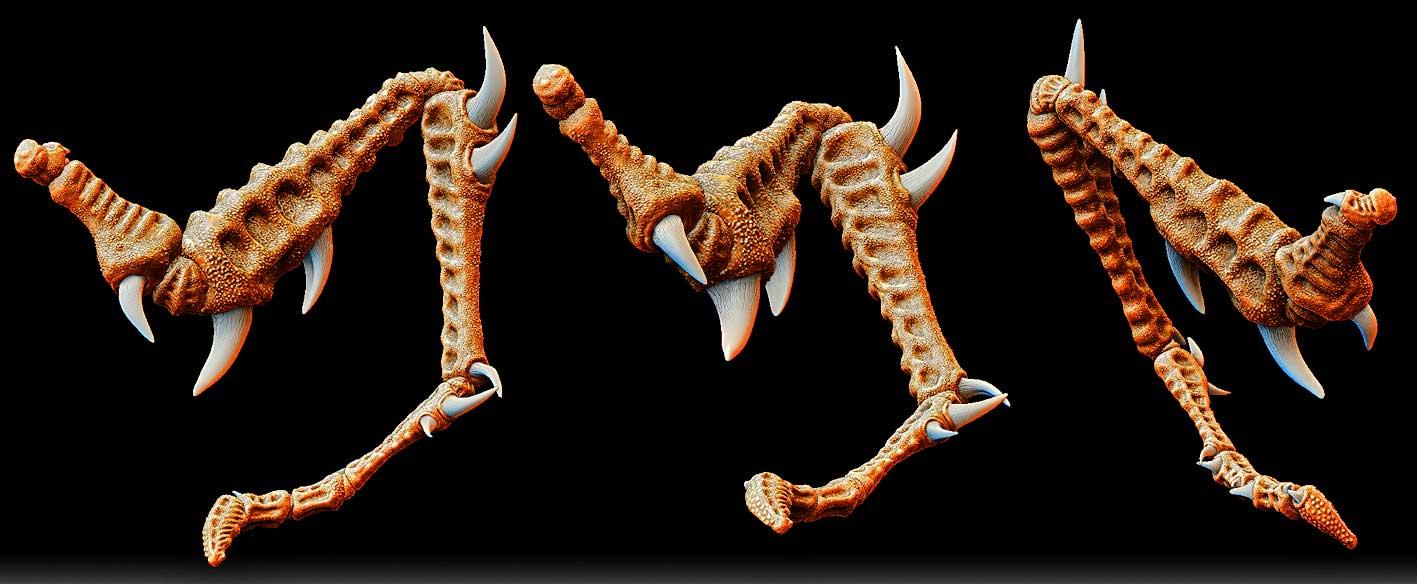 Scorpions leg